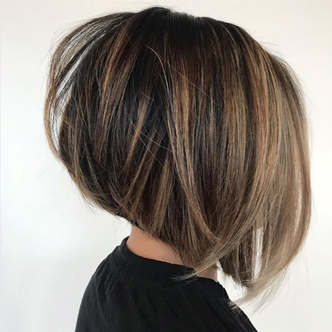 Layered Long Bob Hairstyles For Thick Hair 98