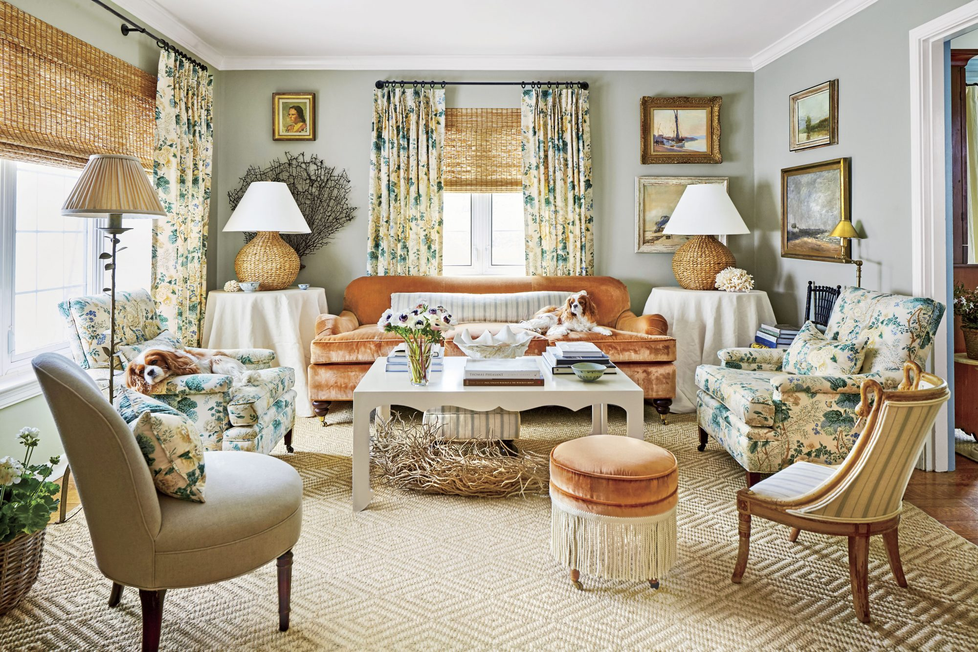 Easy Rules For Hanging Curtains Southern Living