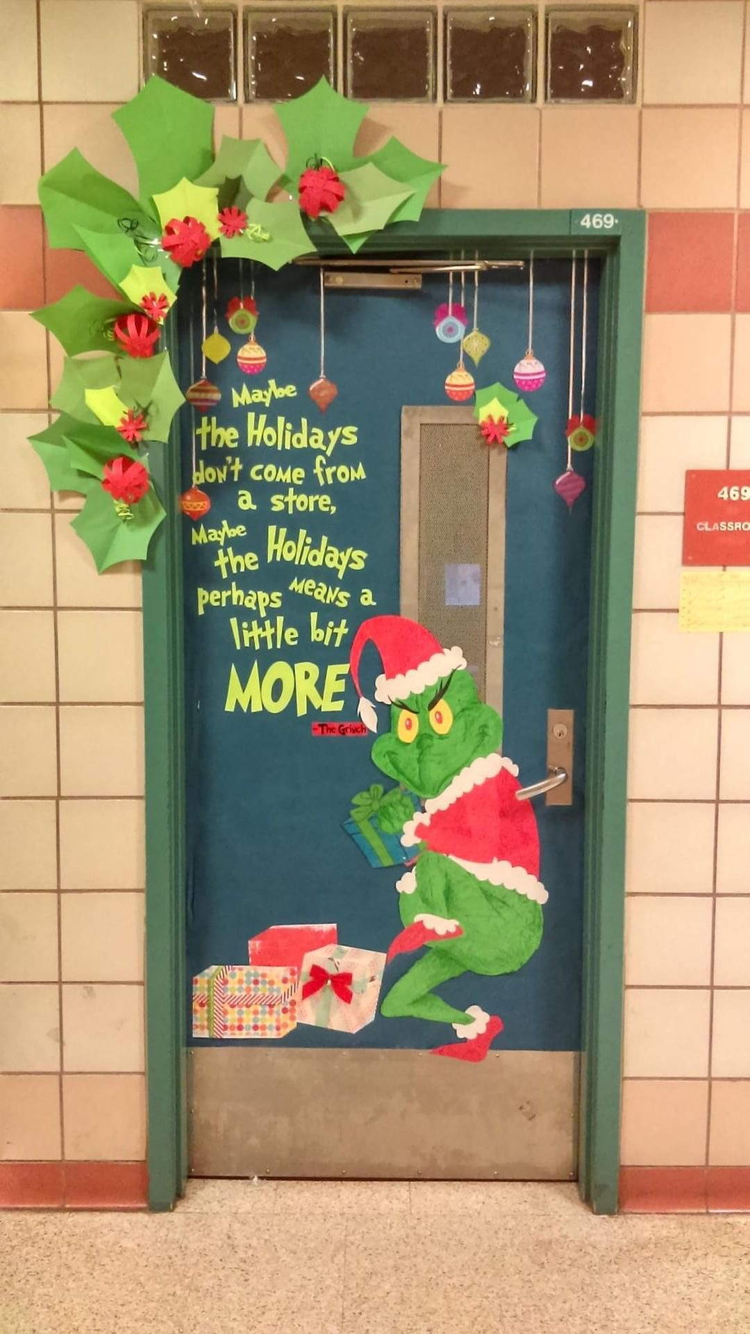 19 Christmas Classroom Doors To Welcome The Holidays