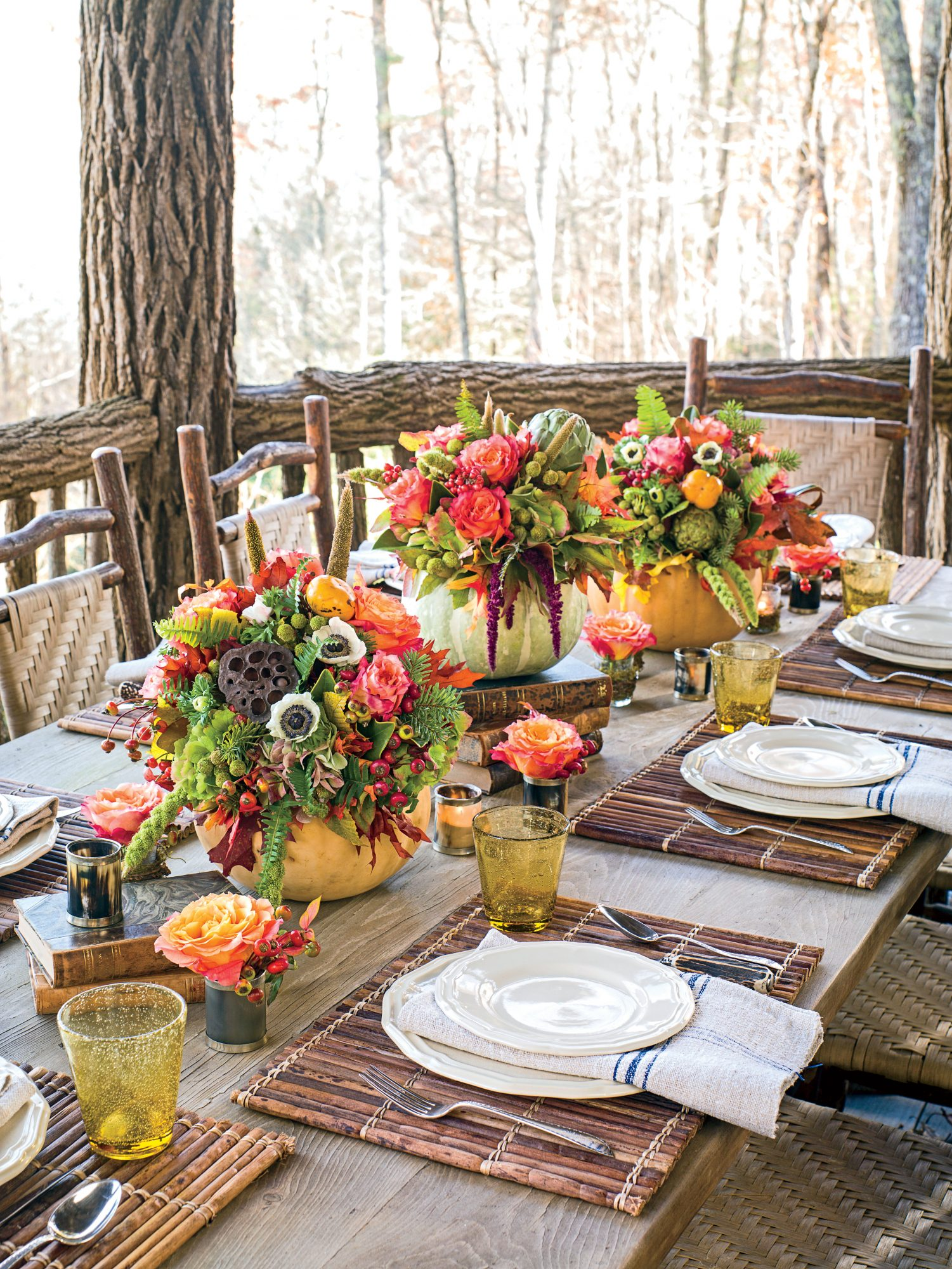 68 Fall Table Decor Ideas That Ll Be A Party Hit Southern Living