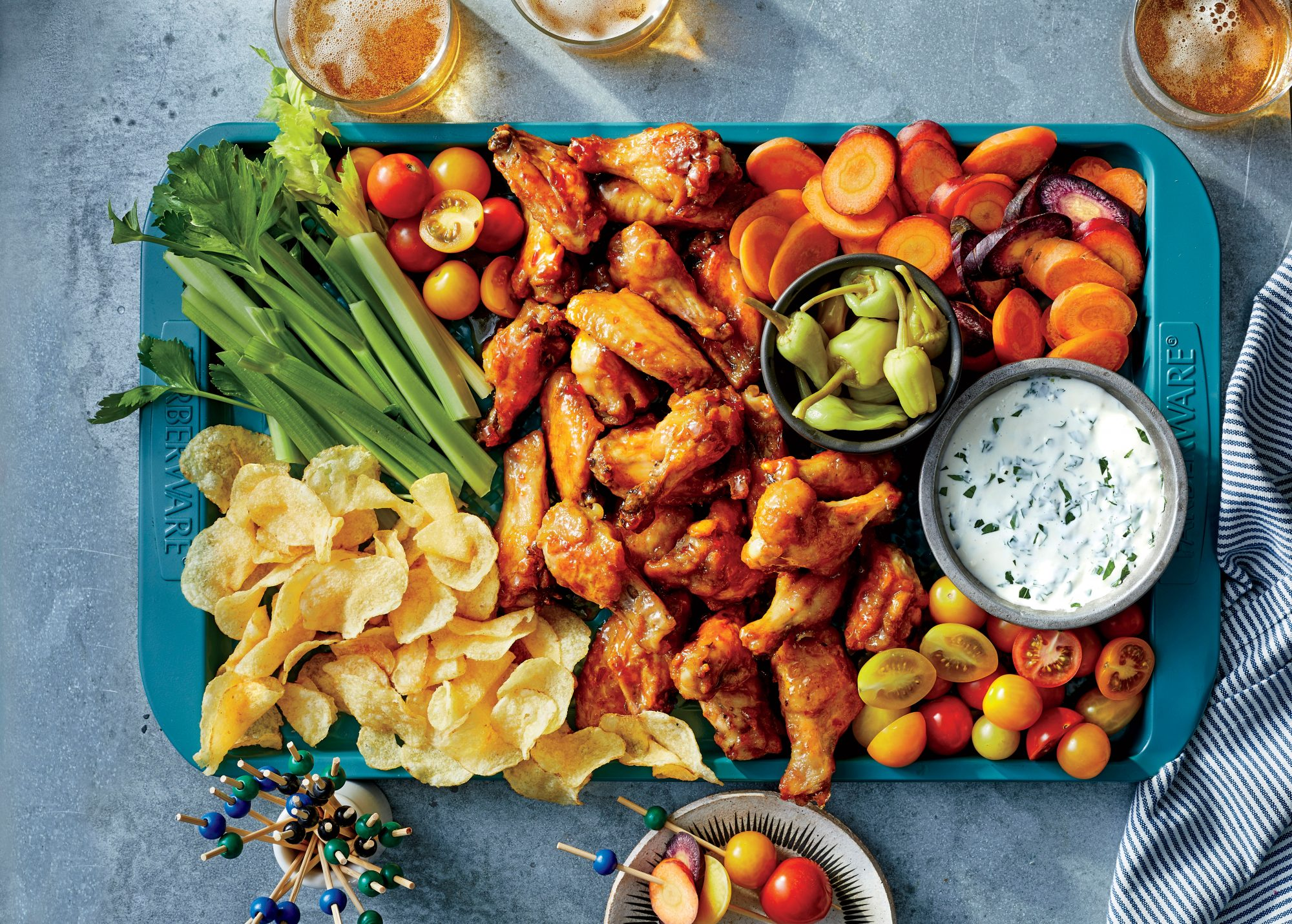 What To Serve With Chicken Wings Southern Living