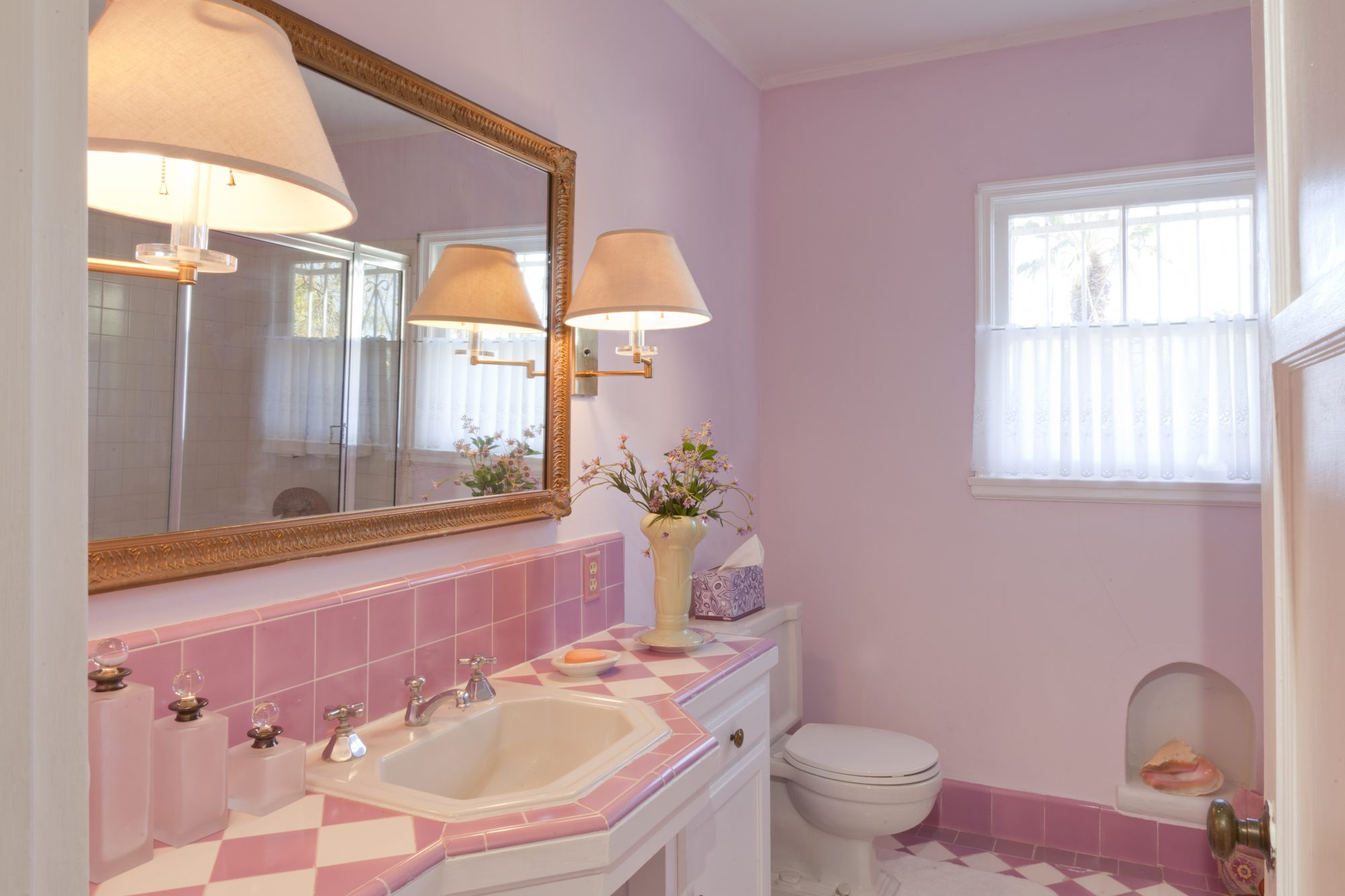 Why Pink Bathrooms Are So Popular Southern Living