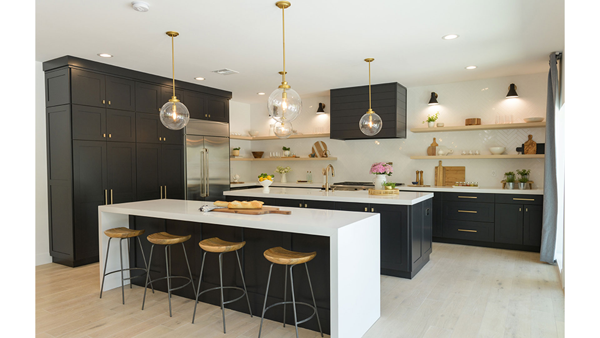 The Property Brothers Pulled off a Kitchen Design with Two ...