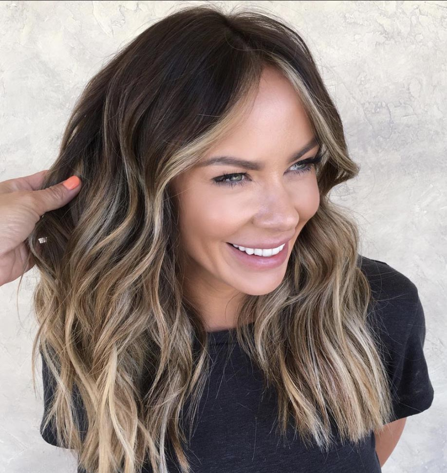 The Most Flattering Medium-Length Brown Hairstyles To Try in 12