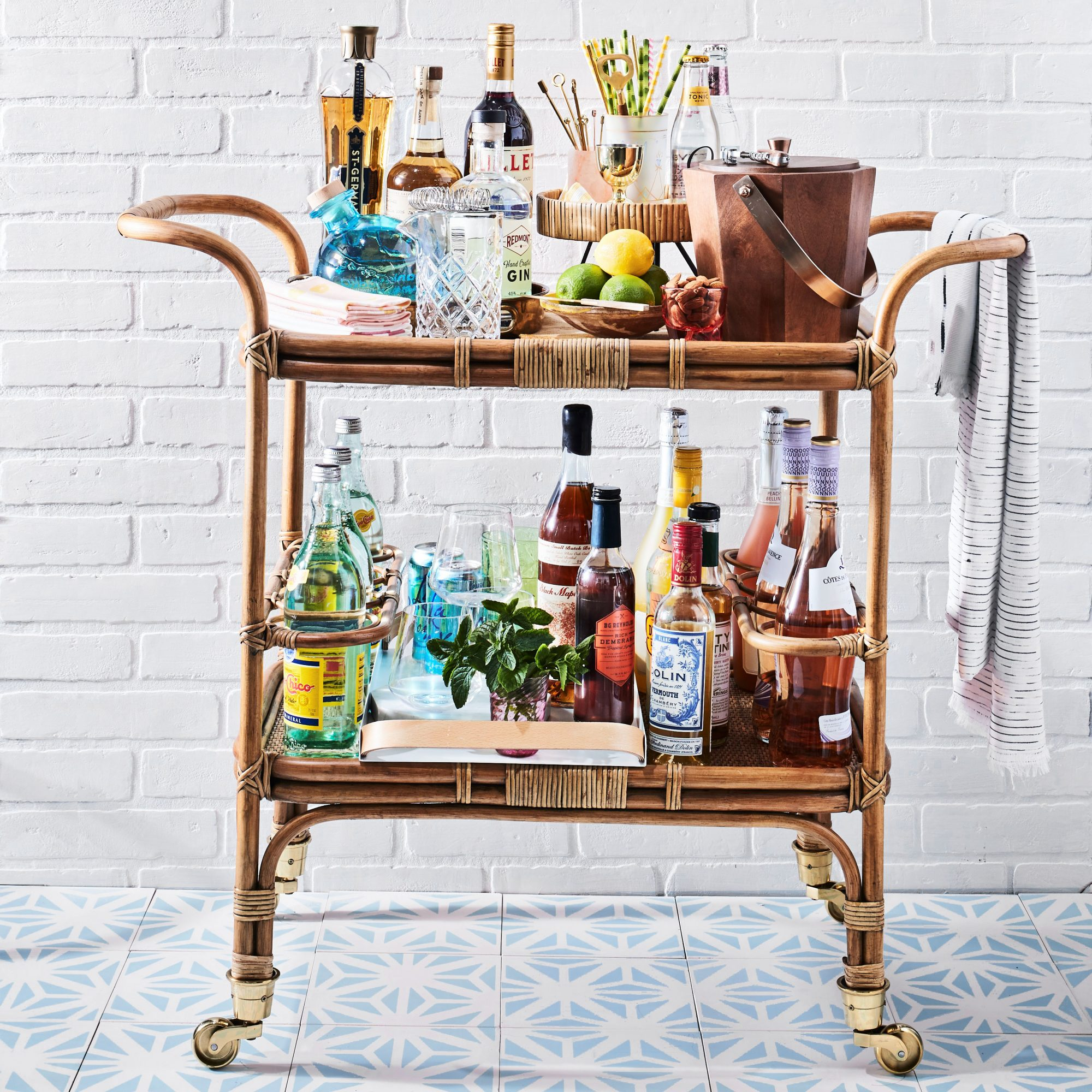 Set Up The Ultimate Bar Cart Southern Living