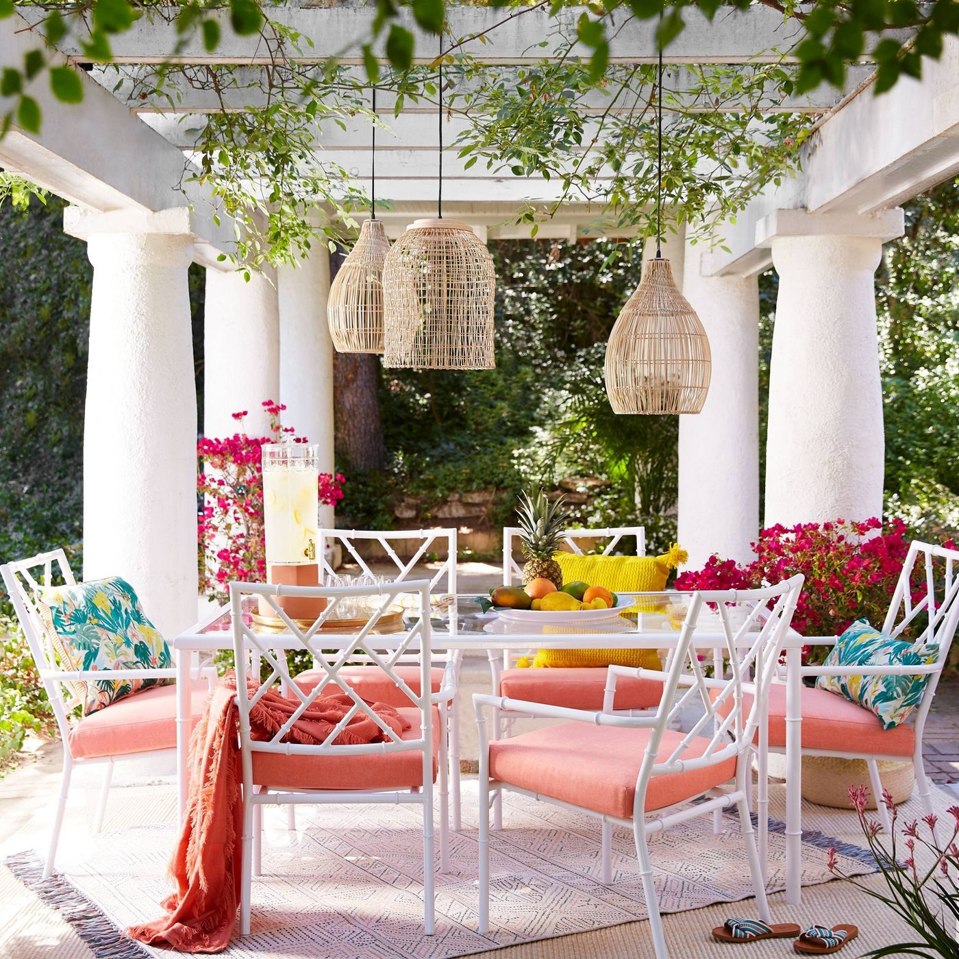 10 Ways To Decorate Your Patio With Bright Colors Southern Living