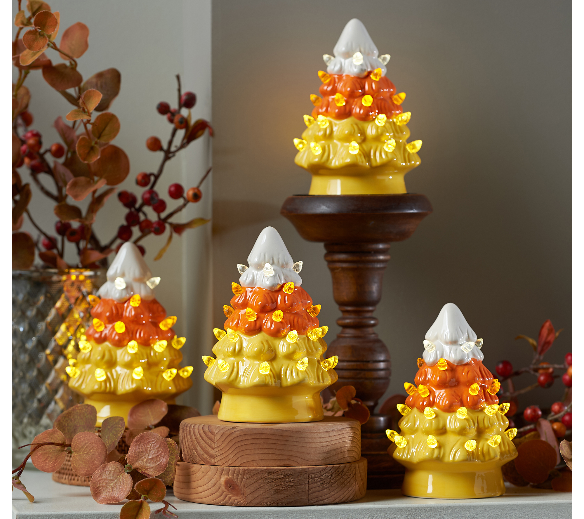 These Candy Corn Christmas Trees Are Just What The 2020 Holiday Season Needs Southern Living