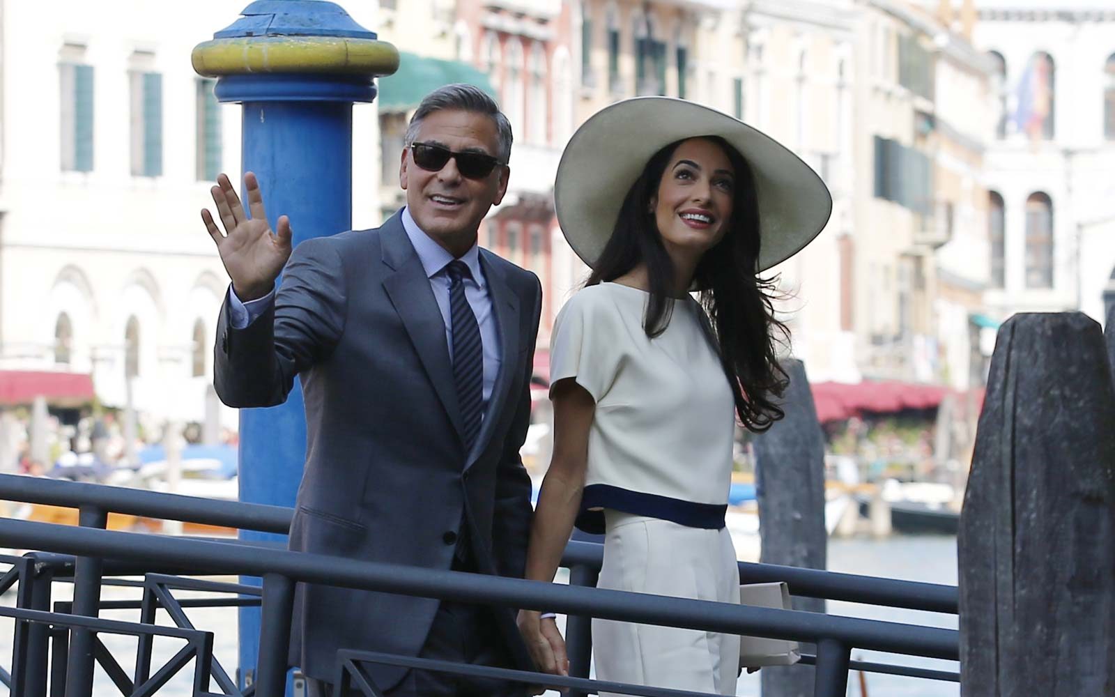 George and Amal Clooney Take Newborn Twins on Their First Trip to Italy   Travel + Leisure