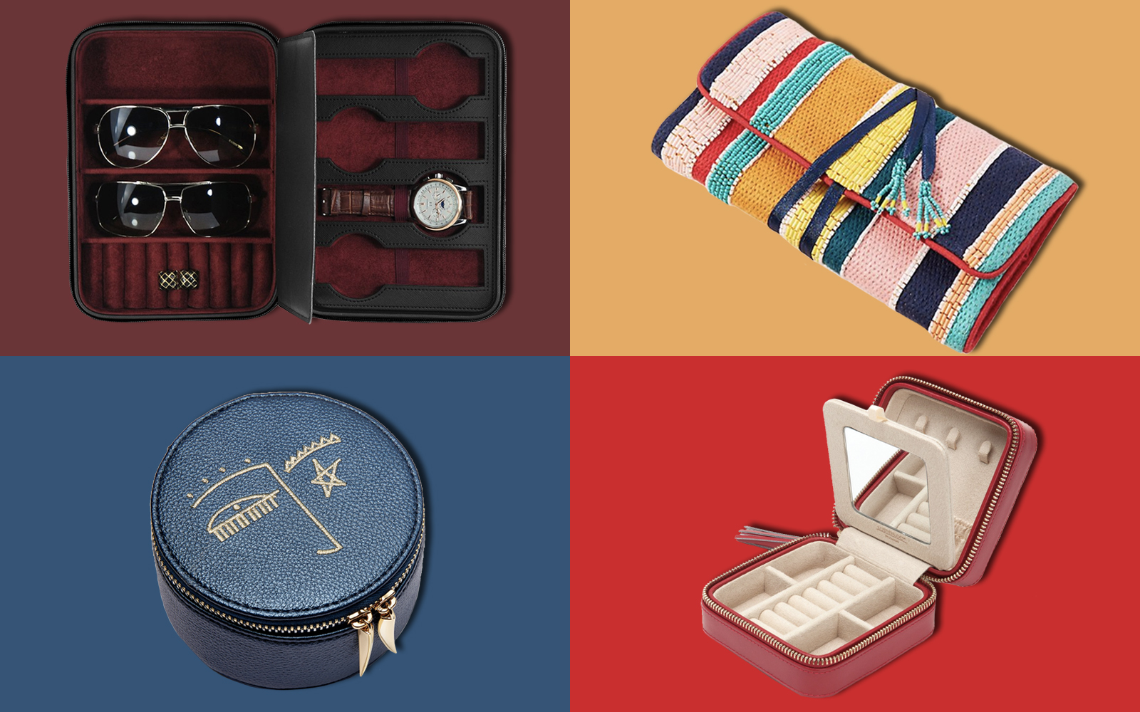 The 14 Best Travel Jewelry Cases For Your Next Trip Travel Leisure