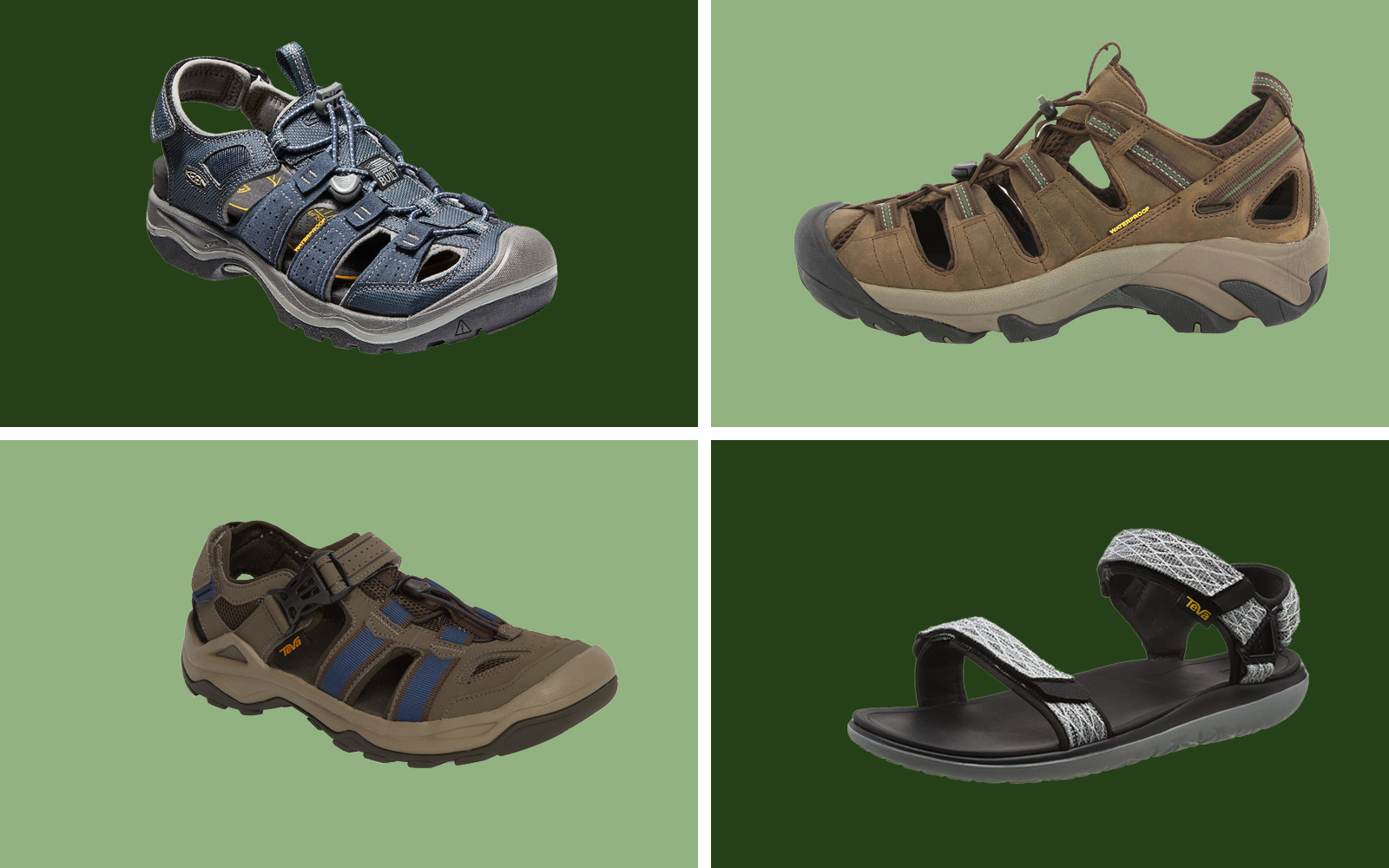 The Best Hiking Sandals for Men for