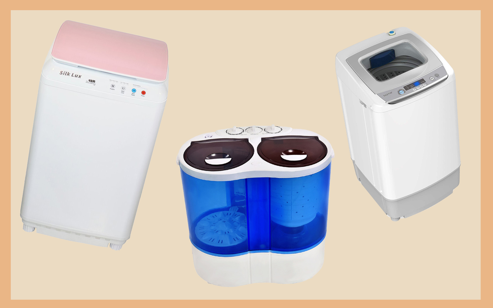 the best portable washing machines for