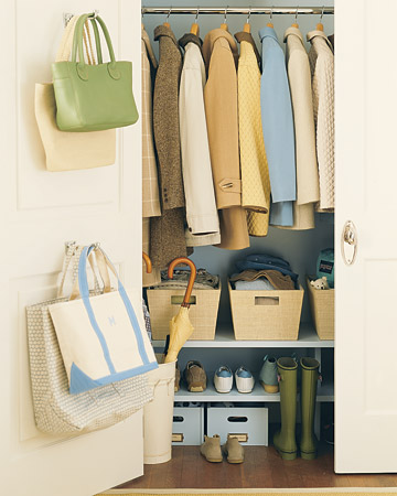 Home Smarts: Save Space in Closets, Hallways, and More - Martha ...