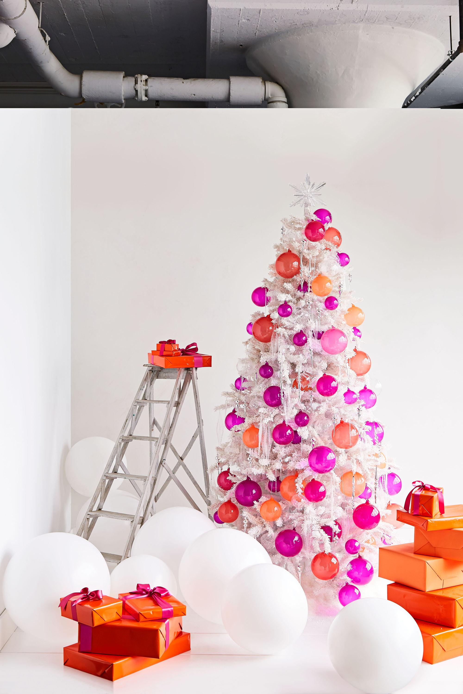 All White Christmas Trees.Creative Christmas Tree Decorating Ideas Martha Stewart