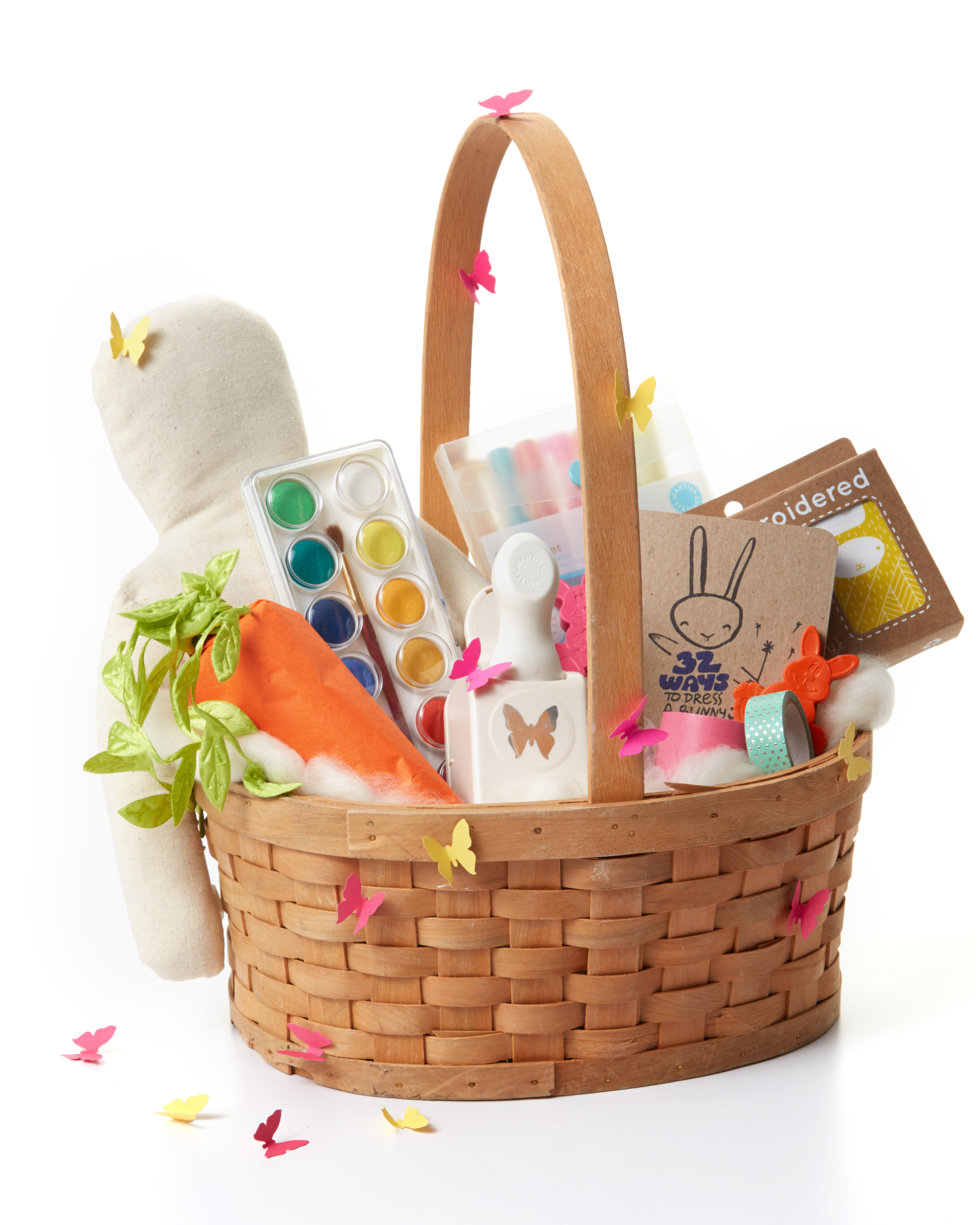 12 Creative and Colorful Easter Basket Ideas for Girls