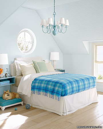 Decorating by Color: Blue Rooms - Martha Stewart