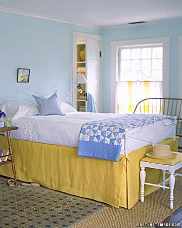 Decorating by Color: Yellow Rooms - Martha Stewart