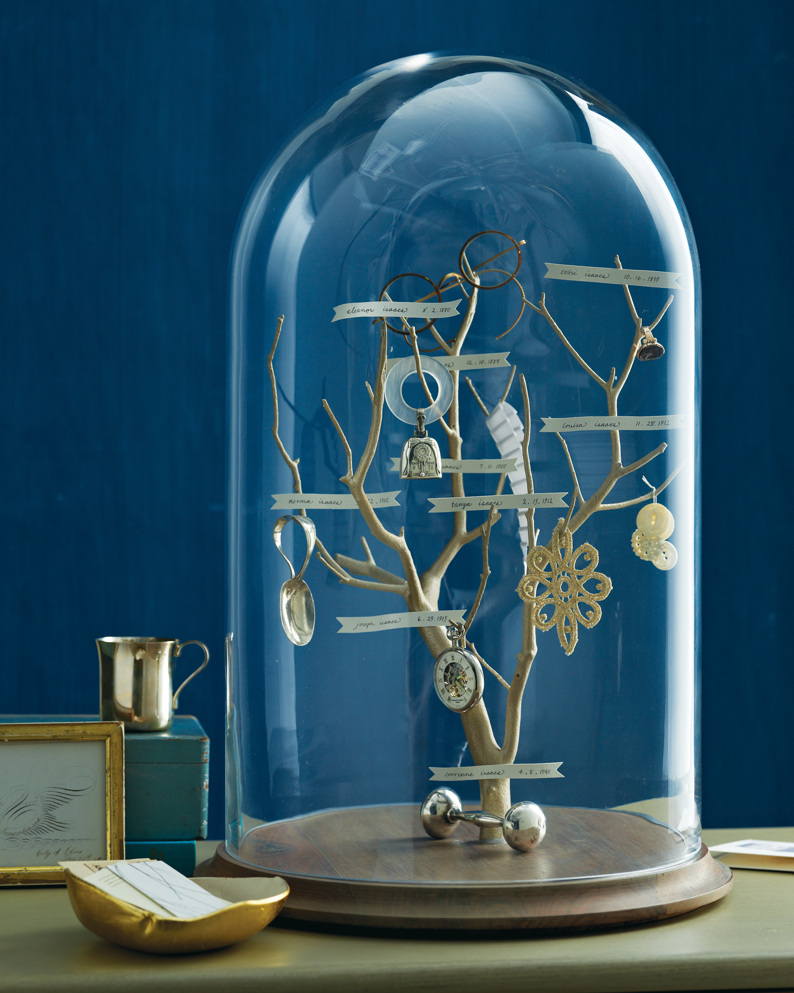 Family Tree in a Glass Dome