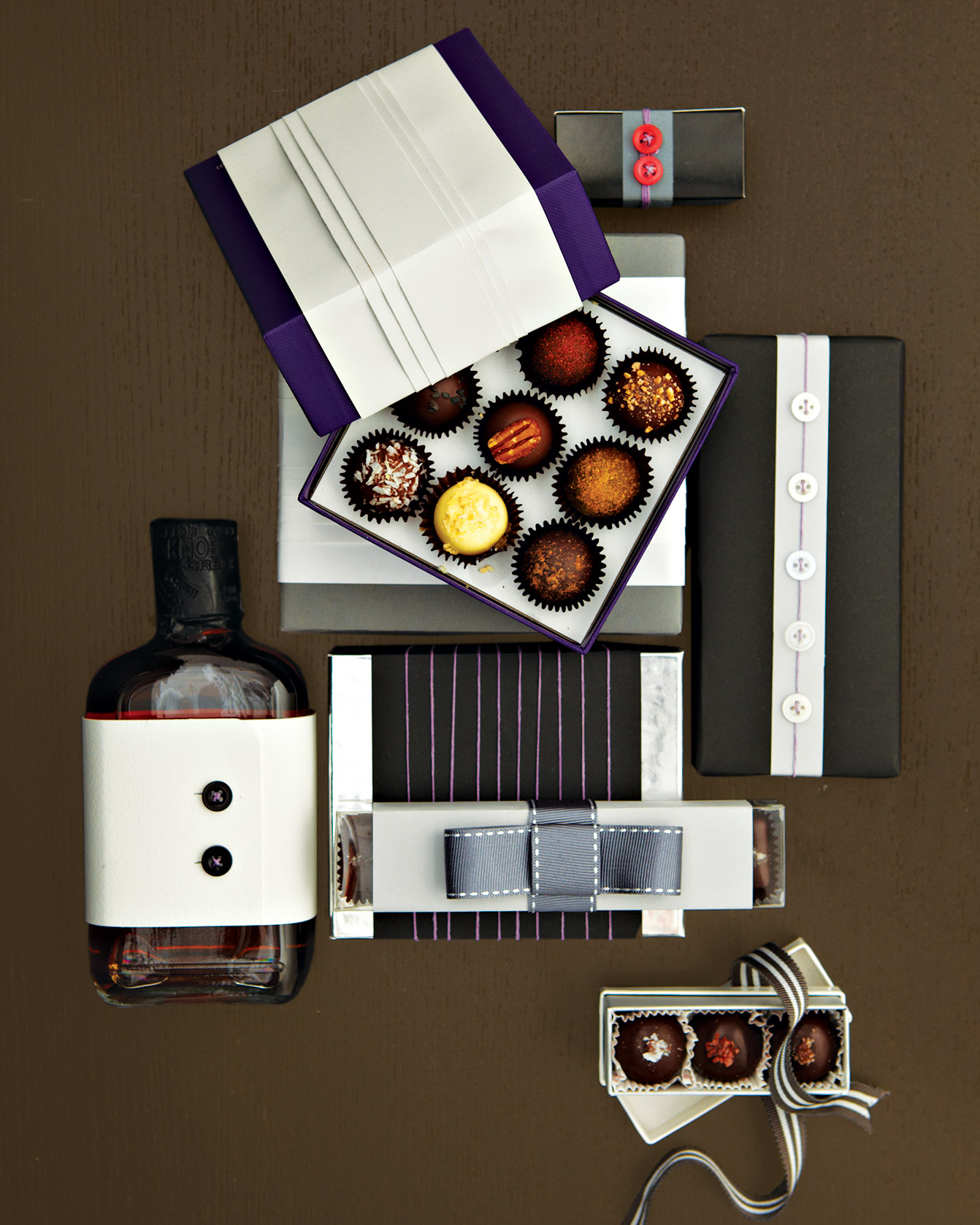 Menswear-Inspired Gift Packages