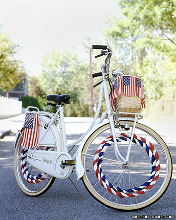 Flag Bicycle Decorations