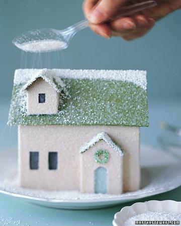 Winter Village How To Build A House Martha Stewart