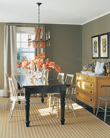 Ordinaire Urban Colonial Dining Room Decorating By Color: Neutral Rooms   Martha  Stewart