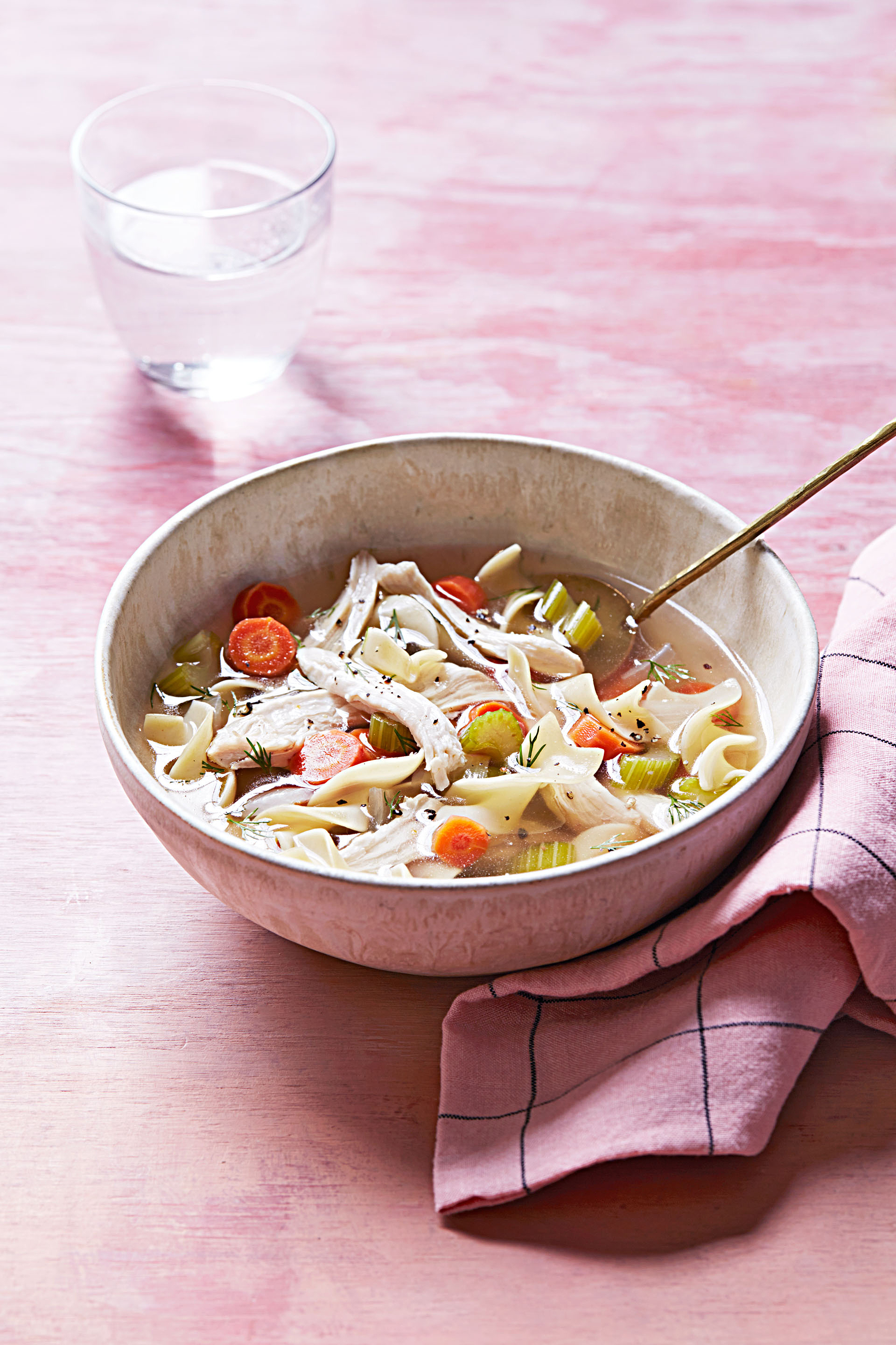 Test Kitchen's Favorite Chicken Soup Made with a Whole Chicken