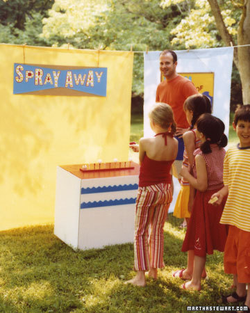 Spray-Away Game