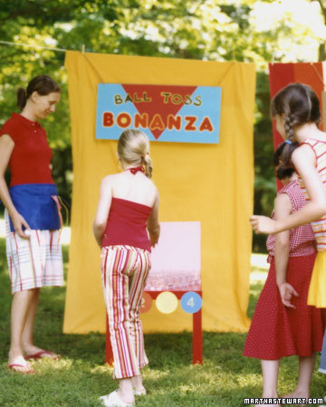 Ball-Toss Bonanza