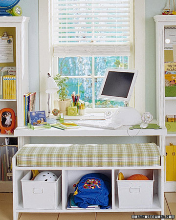Kids Room on Back To School  Kids  Study Spaces   Martha Stewart