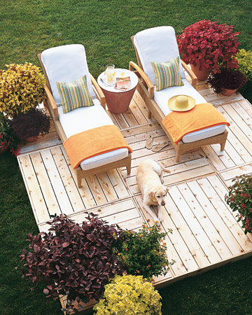 Create Your Own Sun Deck