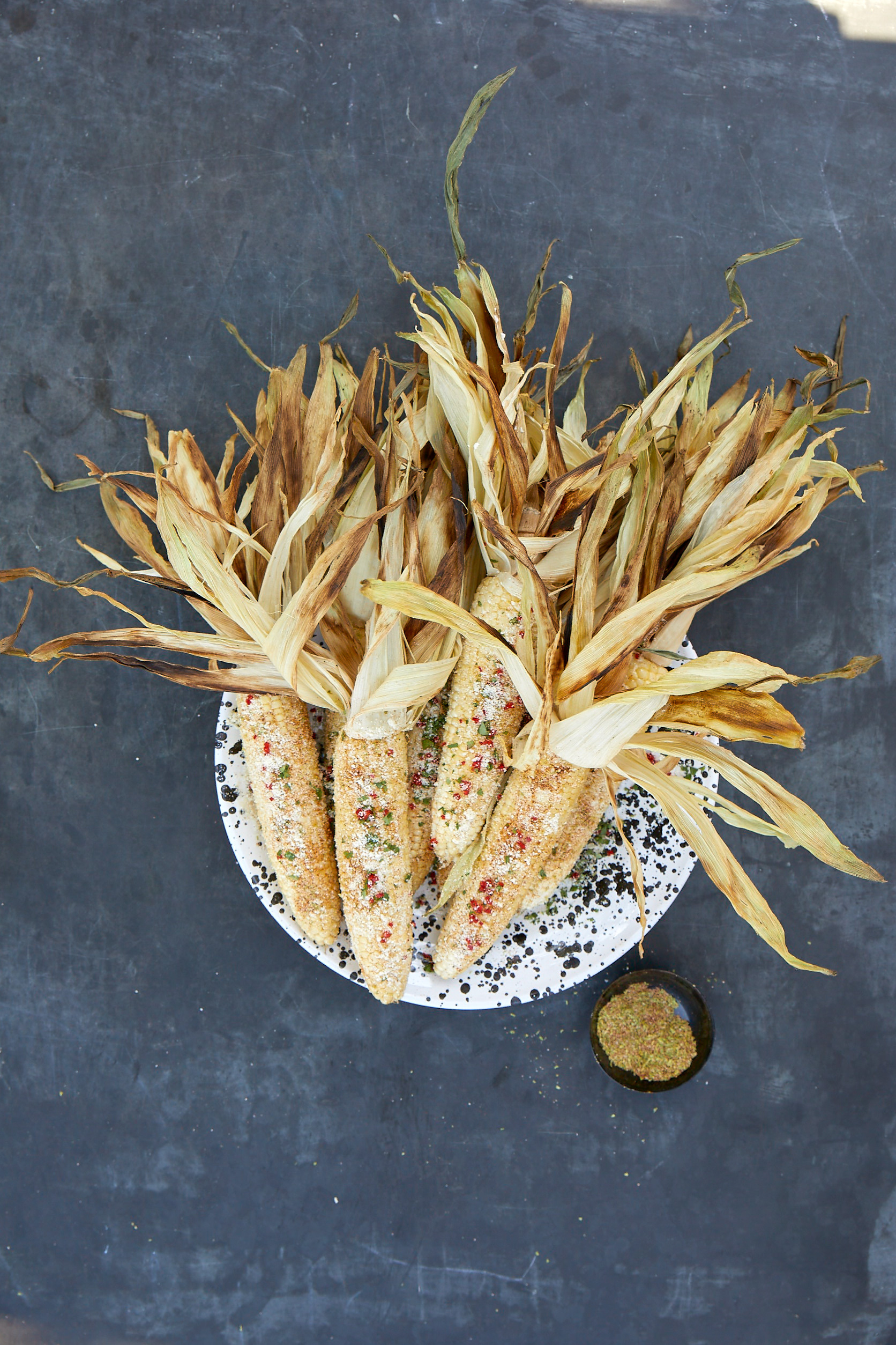 Grilled Corn with Chile-Lime Salt