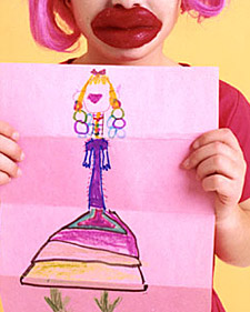 Wacky Party: Drawing Activity How-To