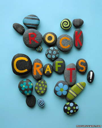 Craft Ideas Photos on Martha Stewart S Crafts For Kids  Rock Crafts   Martha Stewart