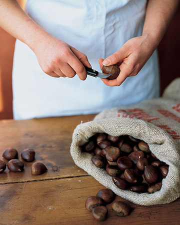 How to Roast and Peel Chestnuts