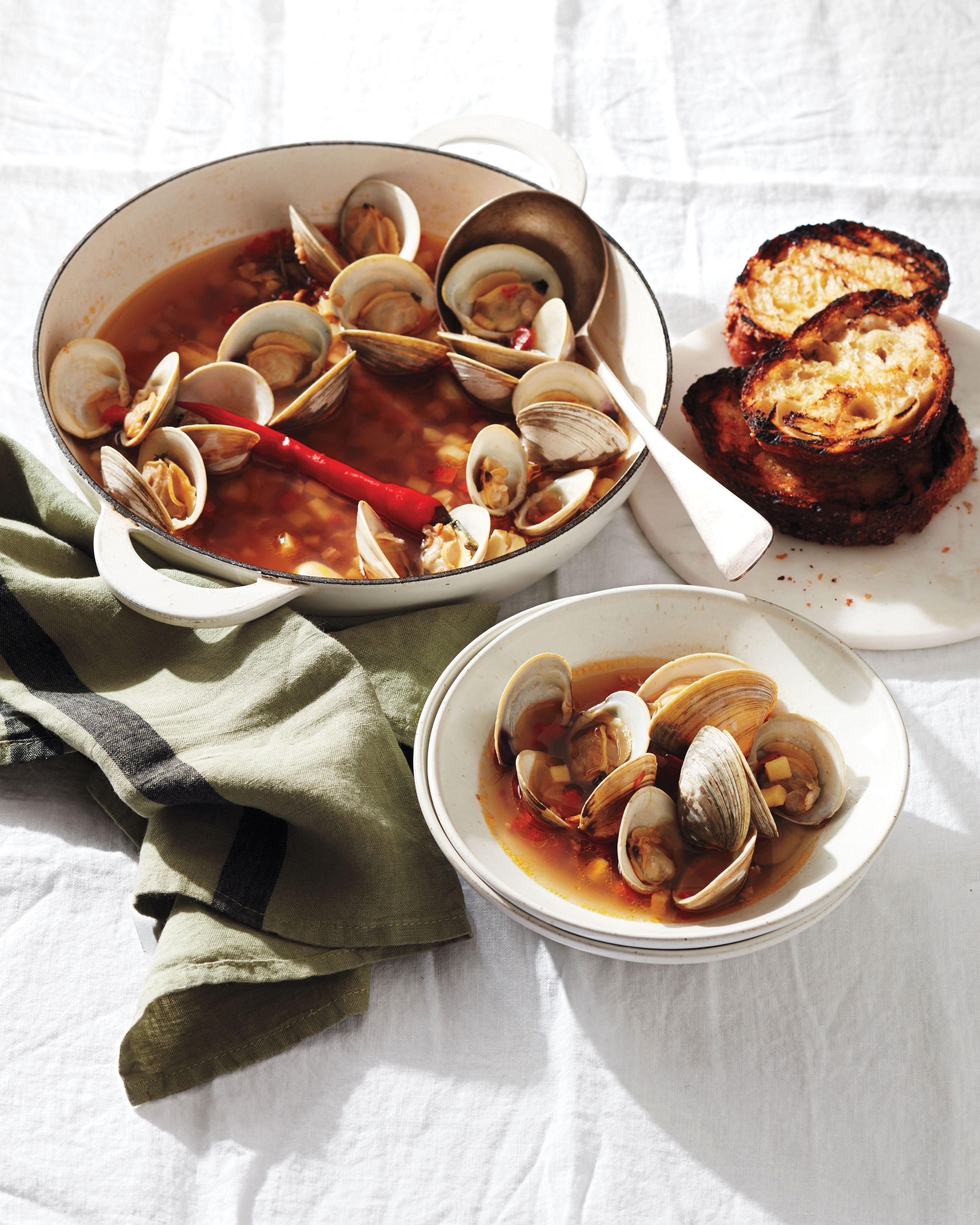 Our Best Clam Recipes That Are Quick And Easy To Make Martha Stewart