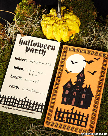 Spooky Sayings for Halloween Cards and Invitations