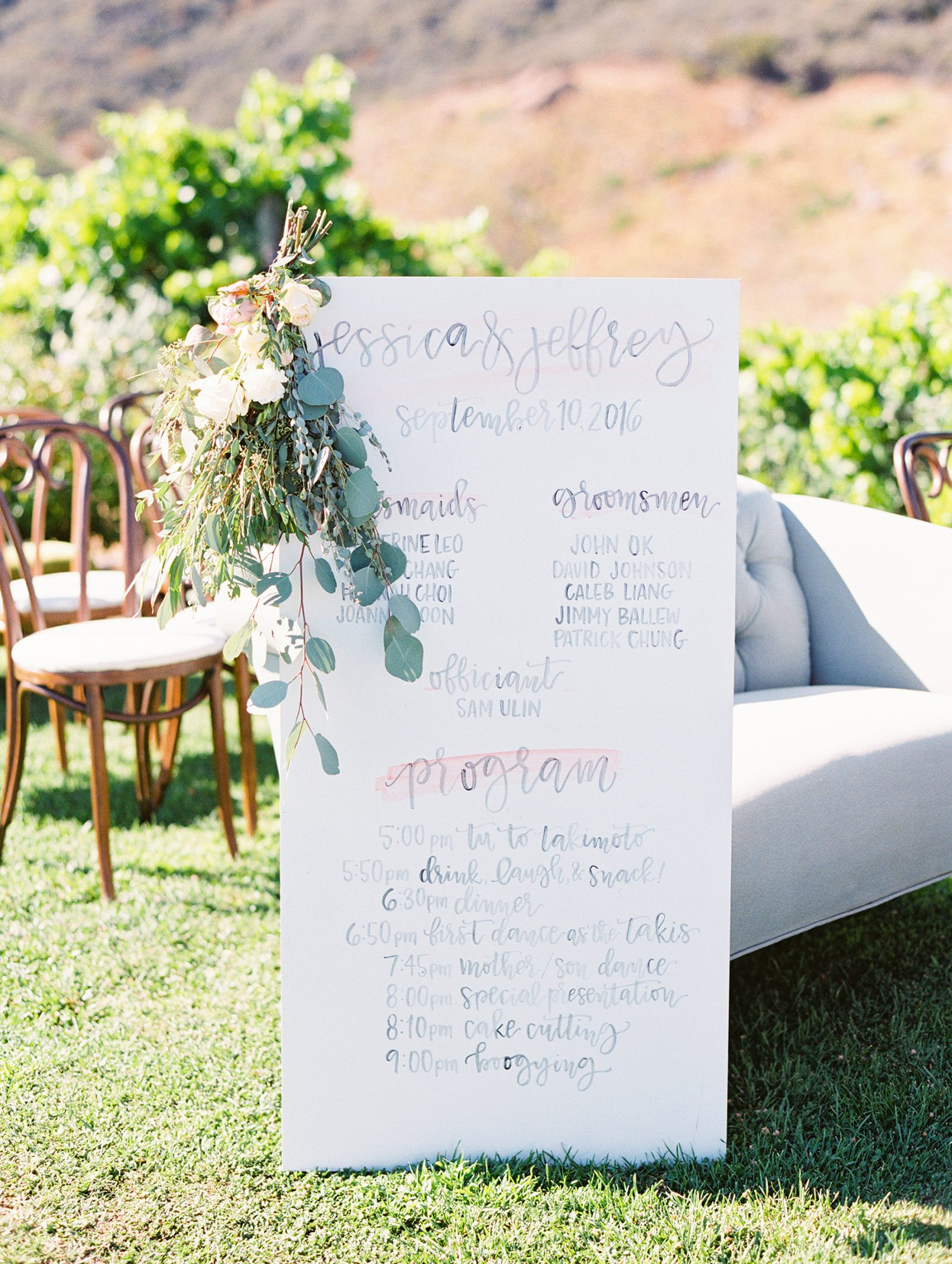 44 Perfect Wedding Ceremony Programs | Martha Stewart