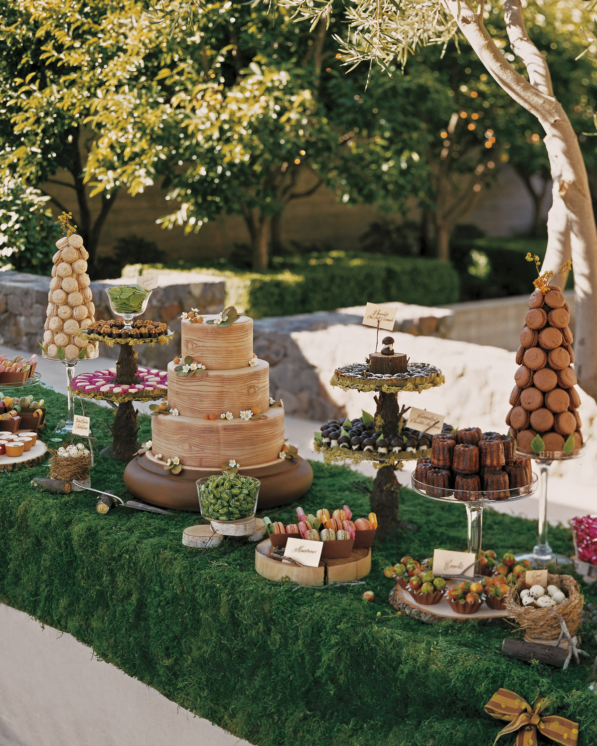 10 Amazing Dessert Tables from Real Weddings  Martha Stewart