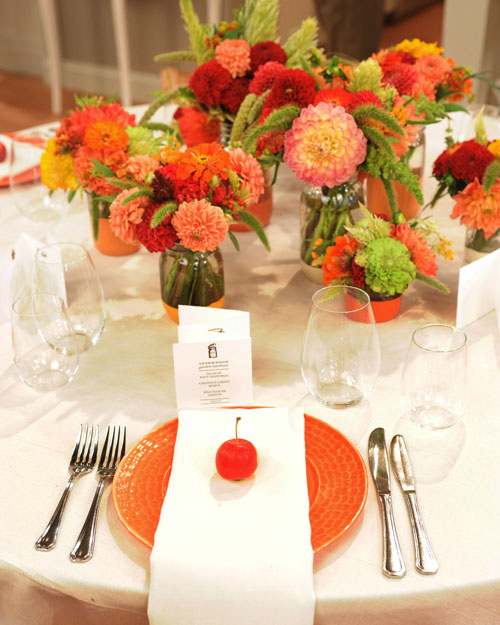 Martha Stewart Wedding Flowers Centerpieces : Classic fall centerpiece step by diy craft how to s and instructions martha stewart