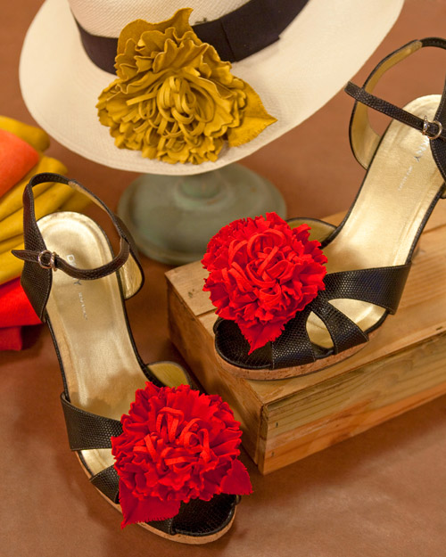 leather flowers step by step diy craft how to s and