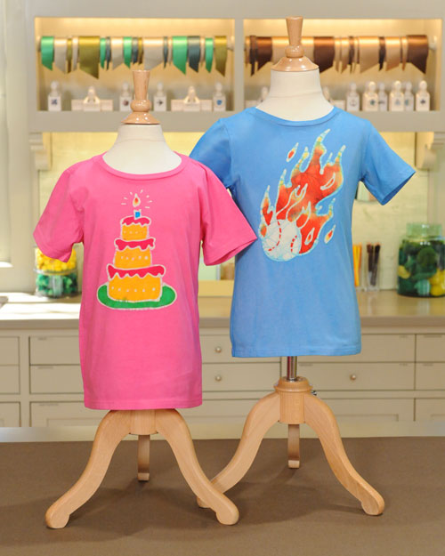 batik t shirts step by step diy craft how to s and instructions martha stewart. Black Bedroom Furniture Sets. Home Design Ideas