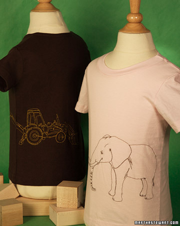 Freehand Embroidered T-Shirts