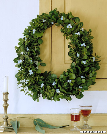 Mistletoe Mistletoe Wreath How To Step By Step Diy