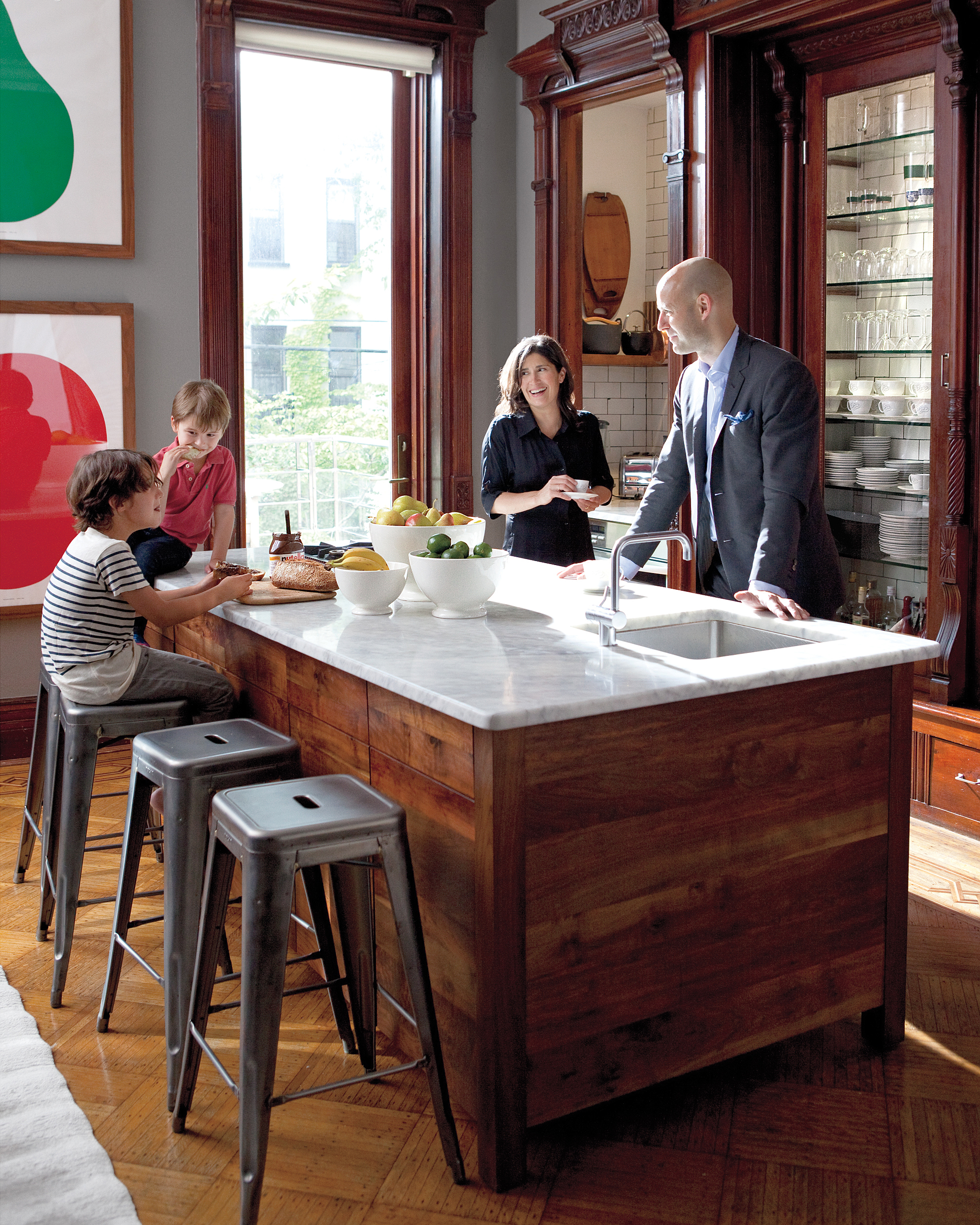 Home Tour: A Family-Oriented Brownstone in Brooklyn