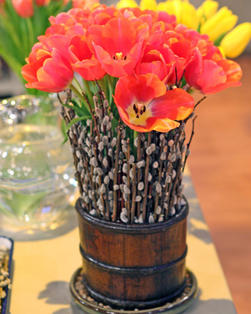 Tulip Table Arrangement