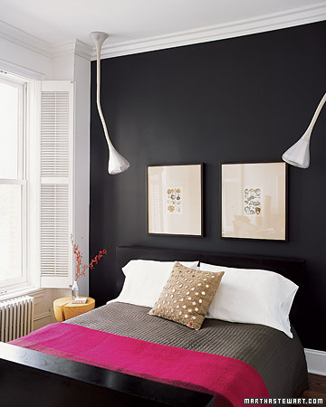 Black-and-White Bedroom