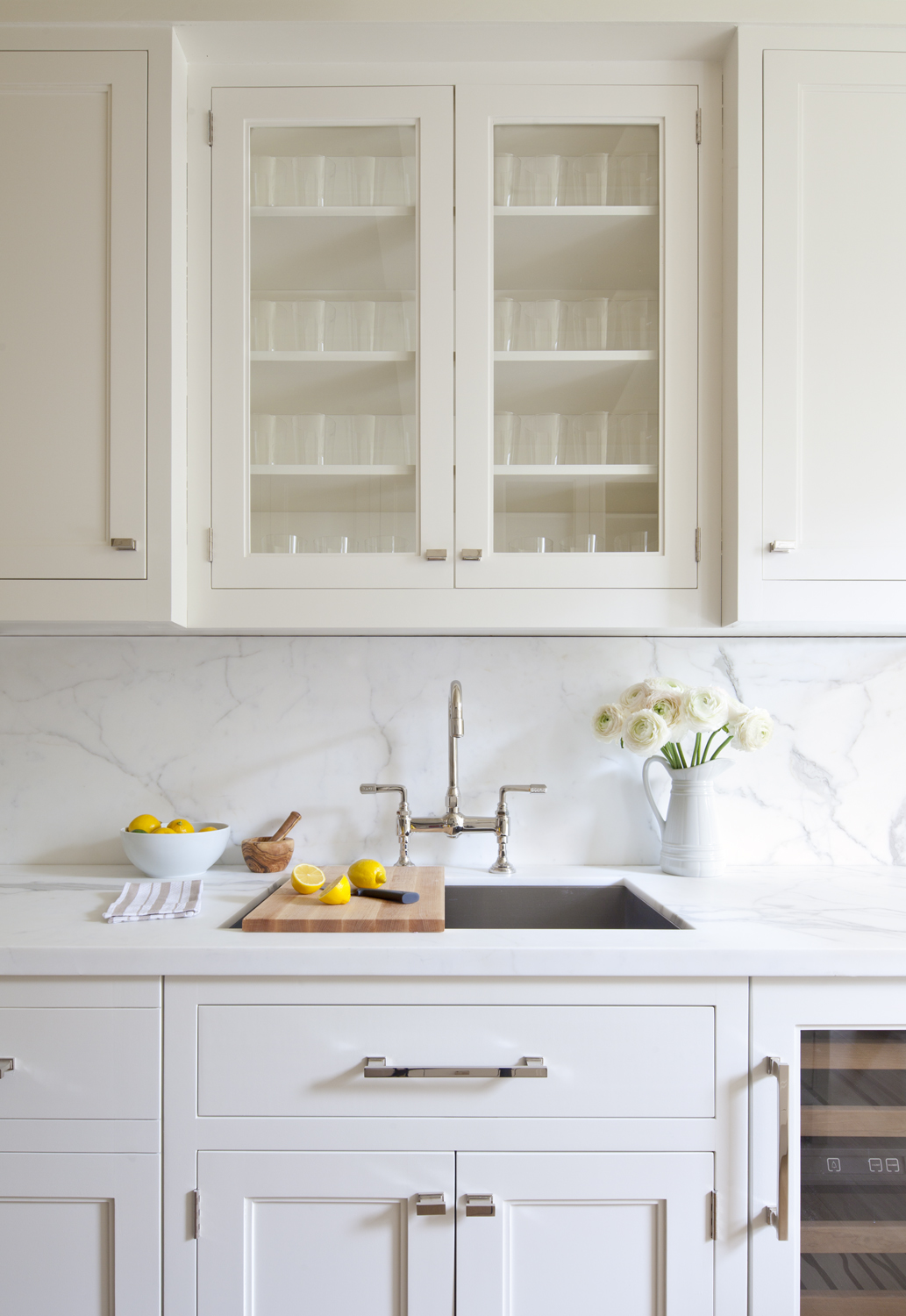 11 Gorgeous Marble Backsplashes That Ll Refresh Any Kitchen Martha Stewart