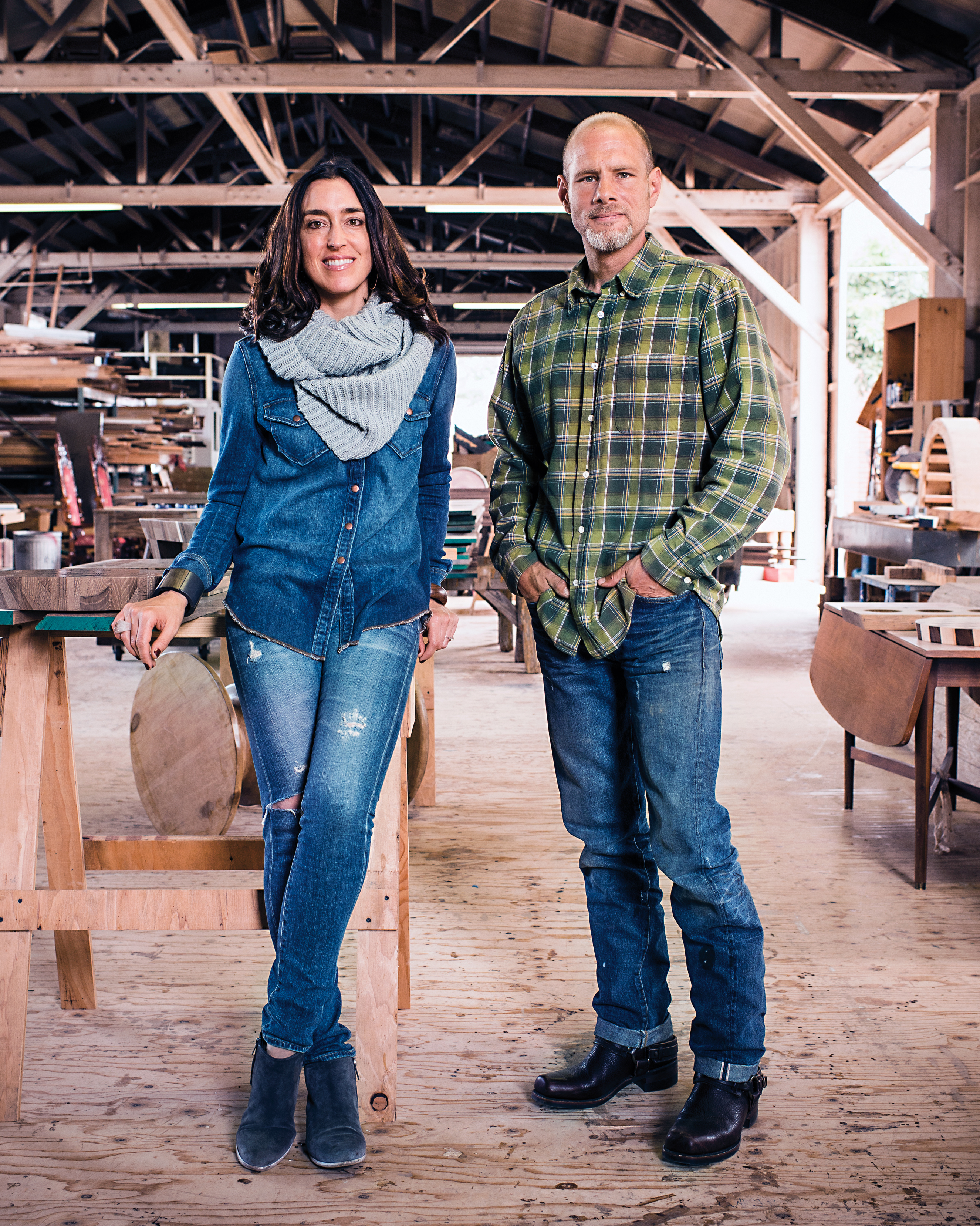 A Woodworking Couple's Labor of Love