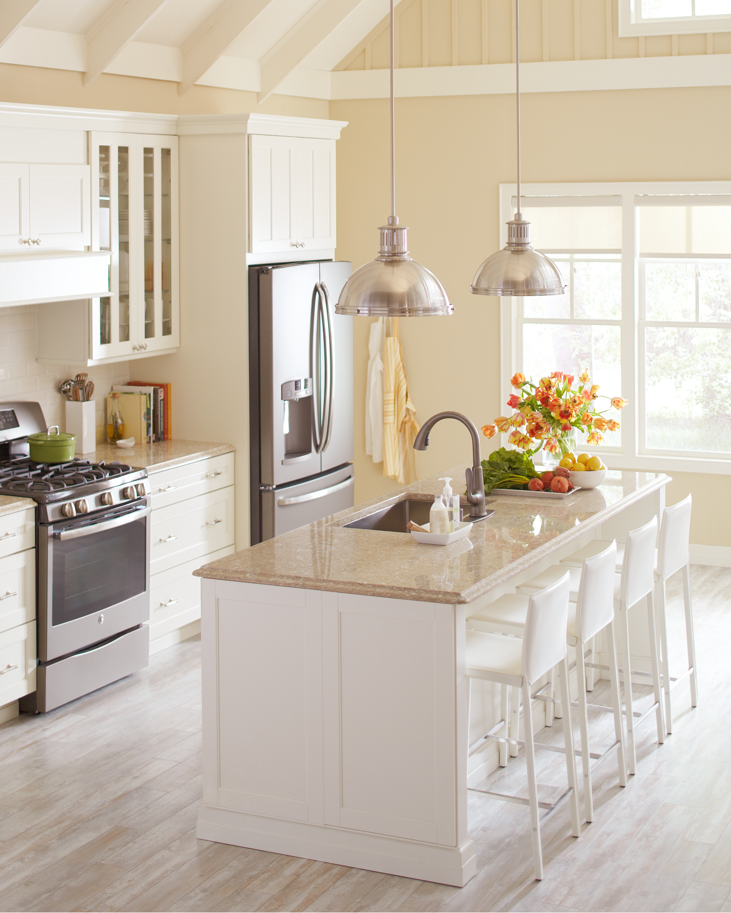 Home Depot: Quartz and Corian Countertops | Martha Stewart
