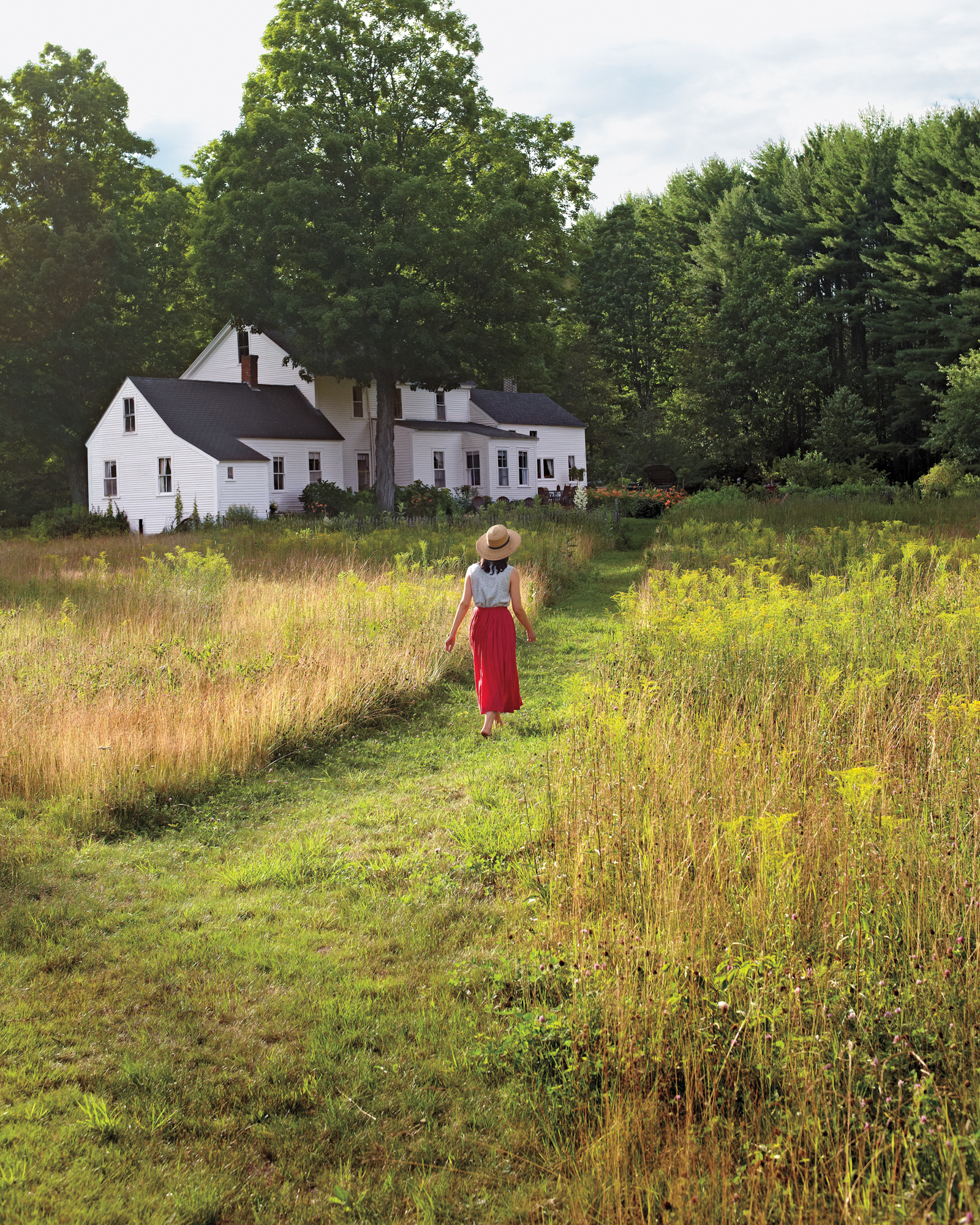 Wild at Heart: Inside Floral Designer Amy Merrick's New Hampshire Family Home